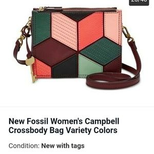 New Fossil Woman's Cambell crossbody bag